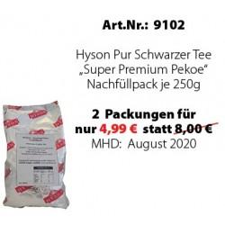 """Art. 9102 3x Hyson Schwarzer Tee """"Pekoe"""" je 250g"""