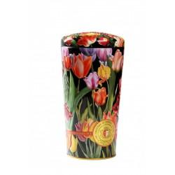 """Art. 743 Chelton Schwarzer & Grüner Tee Vase """"Tulpen"""" 100g"""