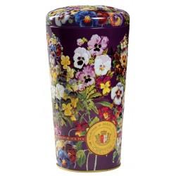 """Art. 742 Chelton Schwarzer Tee Vase """"Stiefmütterchen"""" 100g"""