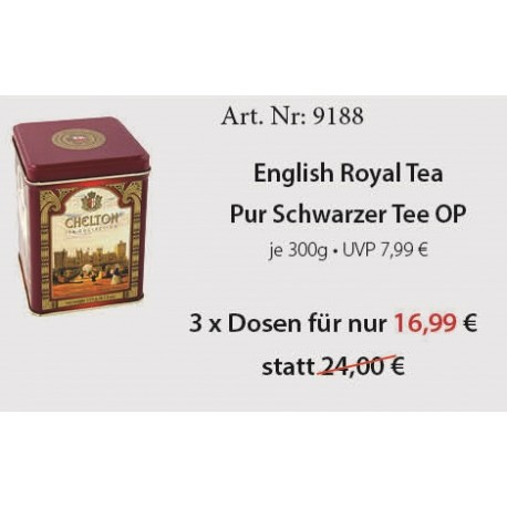 Art. Nr. 9188 3 x English Royal 300gr.Chelton