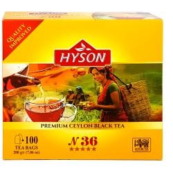 """Hyson Schwarzer Tee """"Nr. 36"""" 2g x 100"""