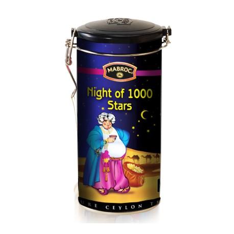 """Art. 4003 Mabroc Schwarzer & Grüner Tee """"Night of 1000 Stars"""" 200g"""