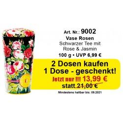 Art.Nr. 9002 Angebot 3 x Vase Rosen Je 100gr.