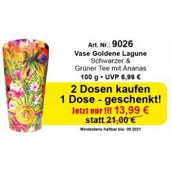 Art.9026 Chelton 3 x Vase Goldene Lagune je 100 Gr.