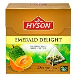 Art. Nr. 7136 Aromatisierter grüner Ceylon Tee mit Anoda/Melone emerald delight