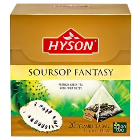 Art. Nr. 7135 Aromatisierter grüner Ceylon Tee mit Anoda soursop fantasy